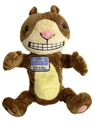 """Scaredy Squirrel Puppet: 12"""": Watt, Melanie"""