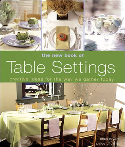9781579902551: The New Book of Table Settings