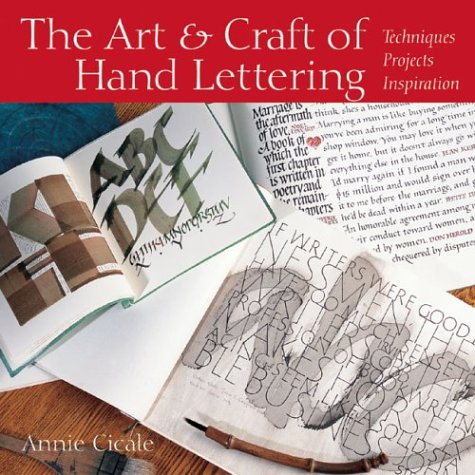 9781579904036: The Art and Craft Hand Lettering