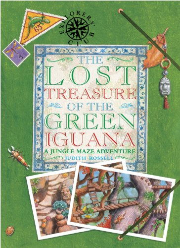 The Lost Treasure of the Green Iguana: Rossell, Judith