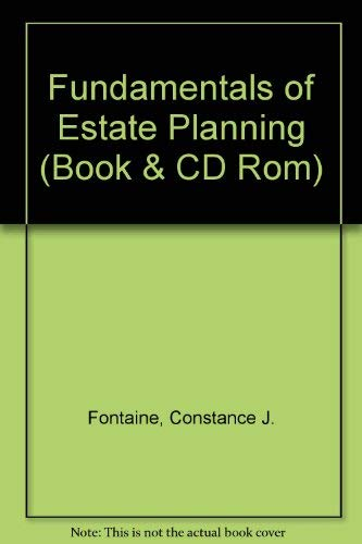 9781579960100: Fundamentals of Estate Planning (Book & CD Rom)