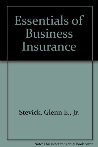 9781579960803: Essentials of Business Insurance