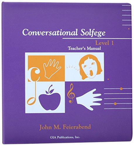 9781579991234: Conversational solfege: Teacher's manual Level 1