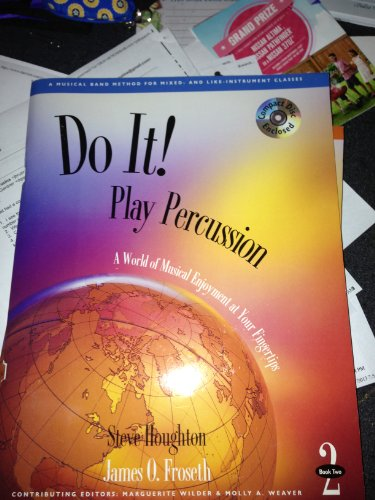 9781579992361: Do It! Play Percussion - Book 2 & CD