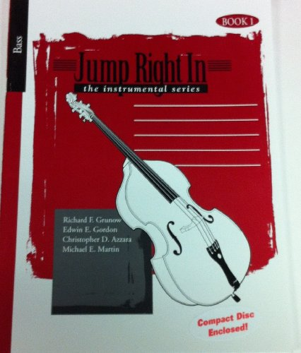 9781579994563: Jump Right In, Bass, the instrumental series, CD + Book 1