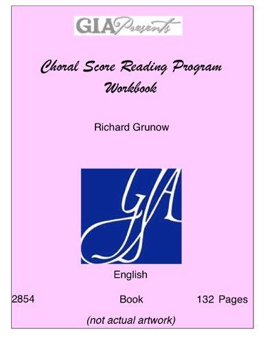 9781579995805: MLR Choral Score Reading Program Workbook/G2854