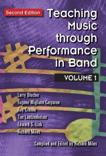 9781579997885: Teaching Music through Performance in Band, Vol. 1 (Second Edition) /G4484