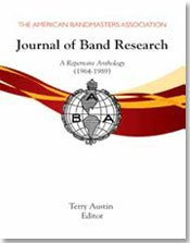 9781579999223: The Journal of Band Research: A Repertoire Anthology (1964-1989)/G8374