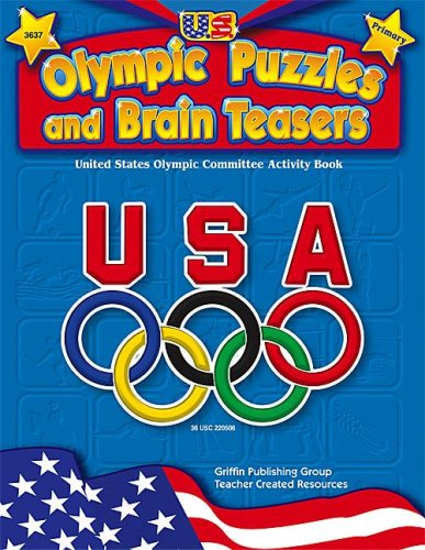 9781580000819: U.S. Olympic Puzzles and Brain Teasers (Primary)
