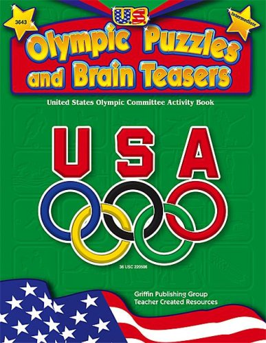 9781580000826: U.S. Olympic Puzzles and Brain Teasers (Intermediate)