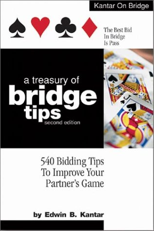 9781580000932: A Treasury of Bridge Tips: 540 Bidding Tips to Improve Your Partner's Game