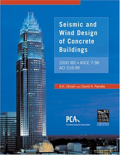 9781580011129: Seismic and Wind Design of Concrete Buildings: (2000 IBC, ASCE 7-98, ACI 318-99)