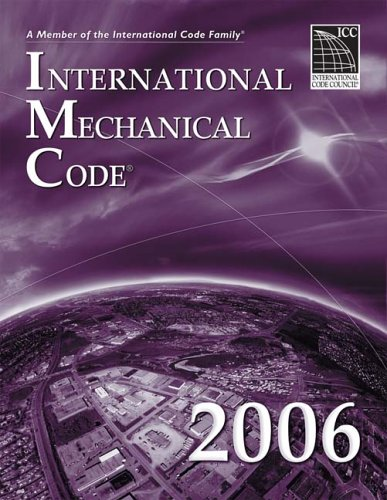 9781580012577: 2006 International Mechanical Code (International Code Council Series)