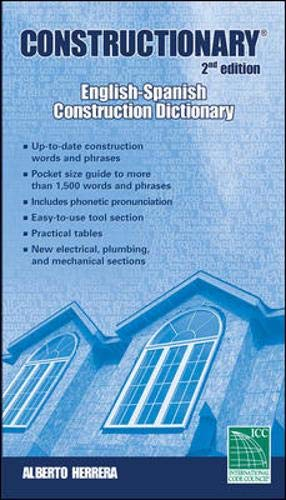 9781580013789: Constructionary, Second Edition: English-Spanish (Constructionary (Spanish/English))