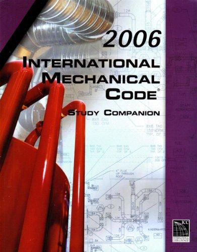 9781580014076: 2006 International Mechanical Code Study Companion