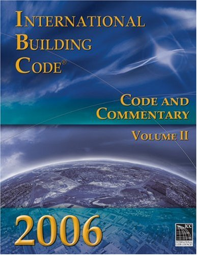 9781580014793: 2006 International Building Code: Code & Commentary, Volume 1 (International Code Council Series)