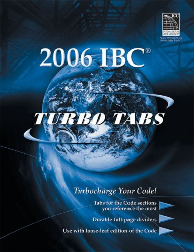 9781580015547: Turbo Tabs for ICC's 2006 International Building Code (International Code Council Series)