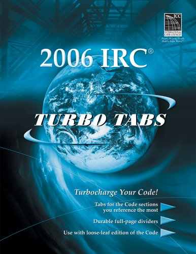 9781580015554: Turbo Tabs for ICC's International Residential Code 2006 (International Code Council Series)