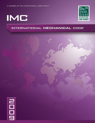 9781580017312: 2009 International Mechanical Code: Softcover Version (International Code Council Series)