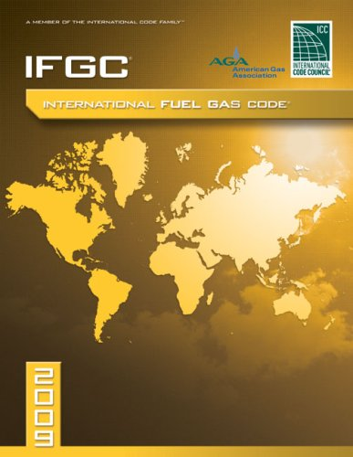9781580017350: 2009 International Fuel Gas Code: Softcover Version (International Code Council Series)