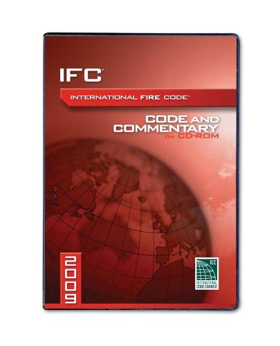 9781580018999: 2009 International Fire Code Commentary CD (International Code Council Series)