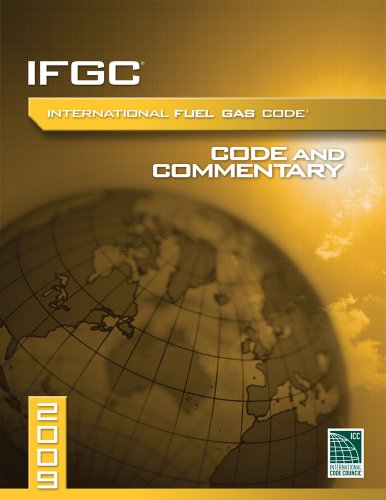 9781580019002: 2009 International Fuel Gas Code Commentary (International Code Council Series)