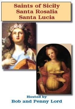 9781580025577: Santa Rosalia, Santa Lucia Saints of Sicily