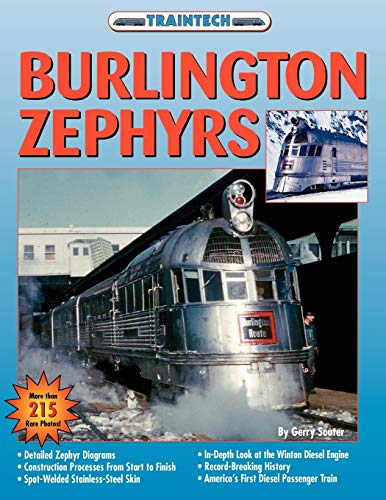 9781580071918: Burlington Zephyrs (Traintech)