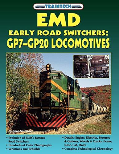 9781580071932: Emd Early Road Switchers: Gp7-Gp20 Locomotives (Traintech)