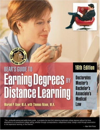 9781580086530: Bear's Guide to Earning Degrees by Distance Learning