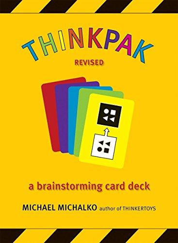 9781580087728: Thinkpak: A Brainstorming Card Deck
