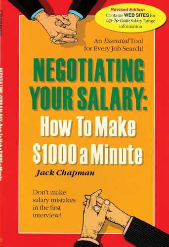 9781580087766: Negotiating Your Salary: How to Make $1,000 a Minute