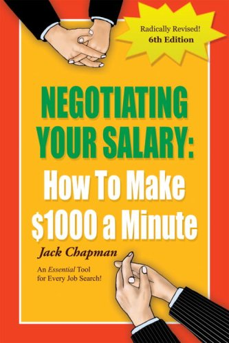 9781580089685: Negotiating Your Salary 6th Ed