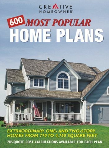 9781580110235: 600 Most Popular Home Plans: Homes from 770 to 4,750 Square Feet