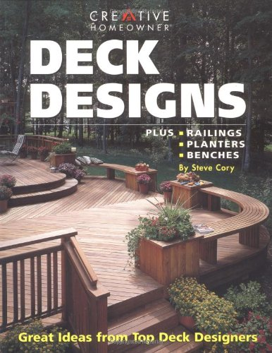 9781580110709: Deck Designs: Plus Railings, Planters, Benches