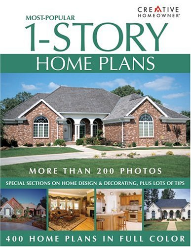 9781580111843: Most-Popular 1-Story Home Plans