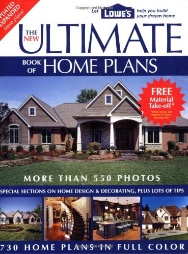 9781580113366: The New Ultimate Book of Home Plans: Lowe's Branded