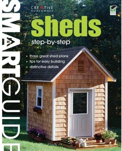 9781580114394: Smart Guide: Sheds: Step-by-Step Projects (Home Improvement)