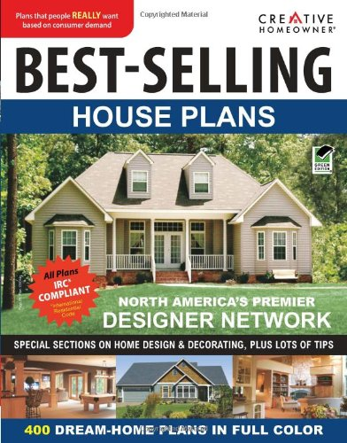 best-selling house plans (ch) (paperback)creative homeowner