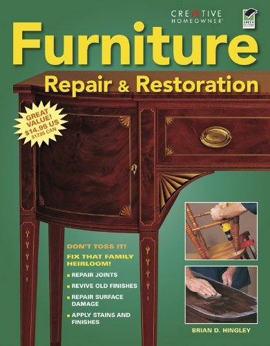 9781580114783: Furniture Repair & Restoration