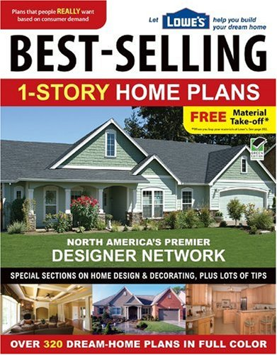 9781580114813: Lowe's Best-Selling 1-Story Home Plans