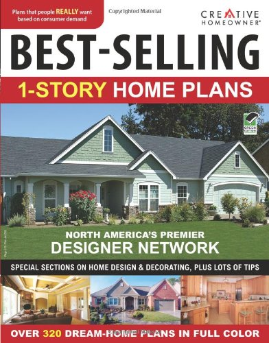 9781580114820: Best-selling 1-story Home Plans