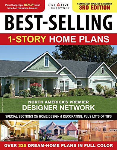 9781580117609: Best-Selling 1-Story Home Plans