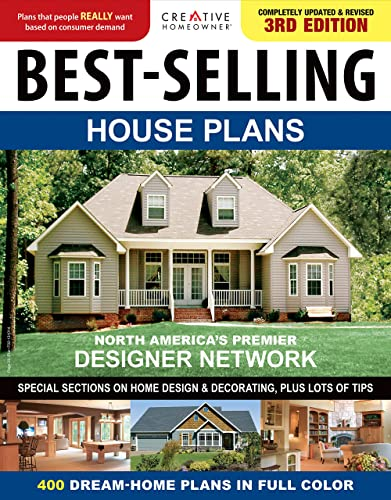 9781580117616: Best-Selling House Plans (Creative Homeowner)