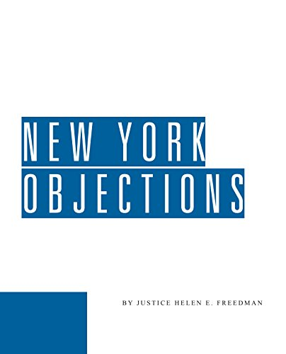 New York Objections: Freedman, Helen E.