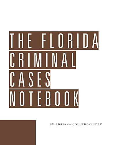 9781580120357: Florida Criminal Cases Notebook