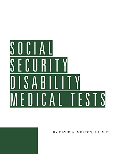 9781580120678: Social Security Disability Medical Tests