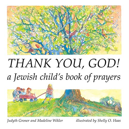 9781580131018: Thank You, God! A Jewish Child's Book of Prayers (English and Hebrew Edition)