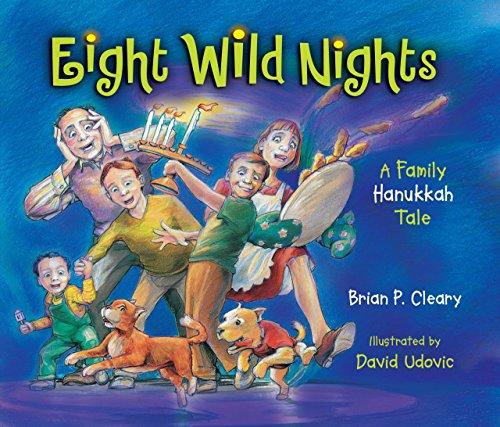9781580132299: Eight Wild Nights: A Family Hanukkah Tale