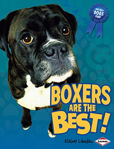 Boxers Are the Best! (Best Dogs Ever): Landau, Elaine